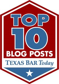 Weekly Top 10 Houston Criminal Lawyer Texas Bar
